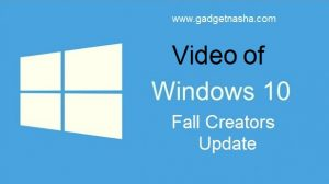 Video Fall Creators Update Part 3