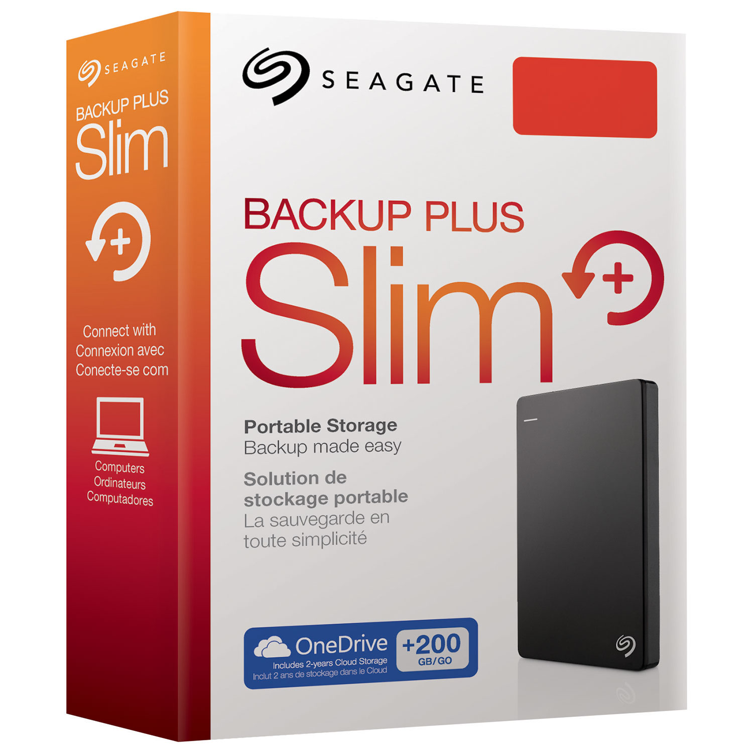 SEAGATE BACKUP PLUS PORTABLE HDD